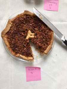 picture of a pecan pie
