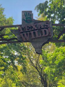 Texas Wild sign